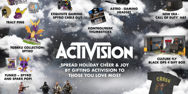 Gifts aplenty heading to stores courtesy of Activision and Blizzard