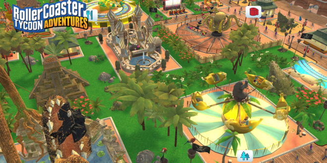 Roller Coaster Tycoon queues up on Switch