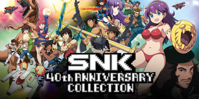 11 new titles arrive for SNK 40th Anniversary today