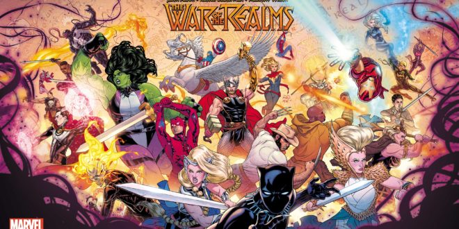 Marvel announces War of the Realms, event series coming April 2019