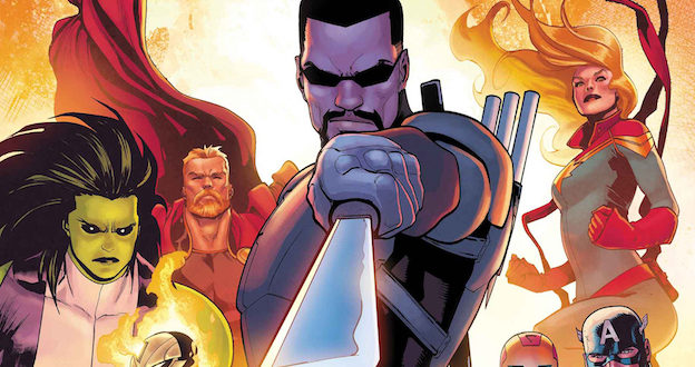 War of the Realms includes Dark Elves, undead, and Blade