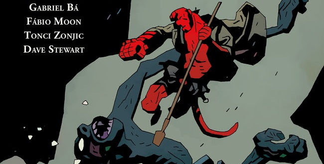 Hellboy's Winter Special in stores this week