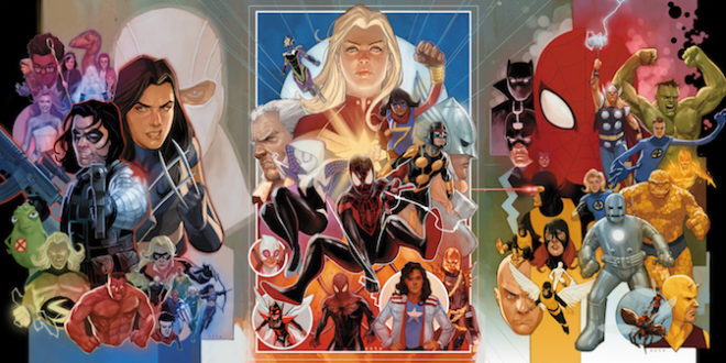 80 years of Marvel Comics featured on new variant covers