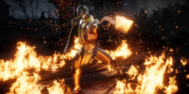 Here's that Mortal Kombat 11 trailer everyone's talking about
