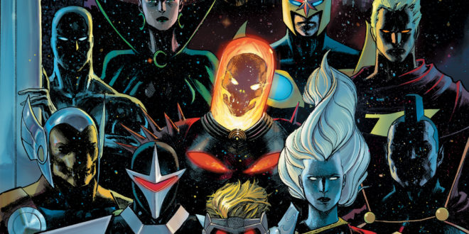 Guardians of the Galaxy return to comics today