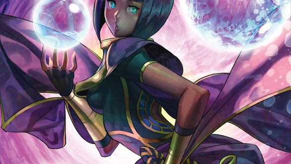 Udon's Street Fighter: Menat one-shot detailed