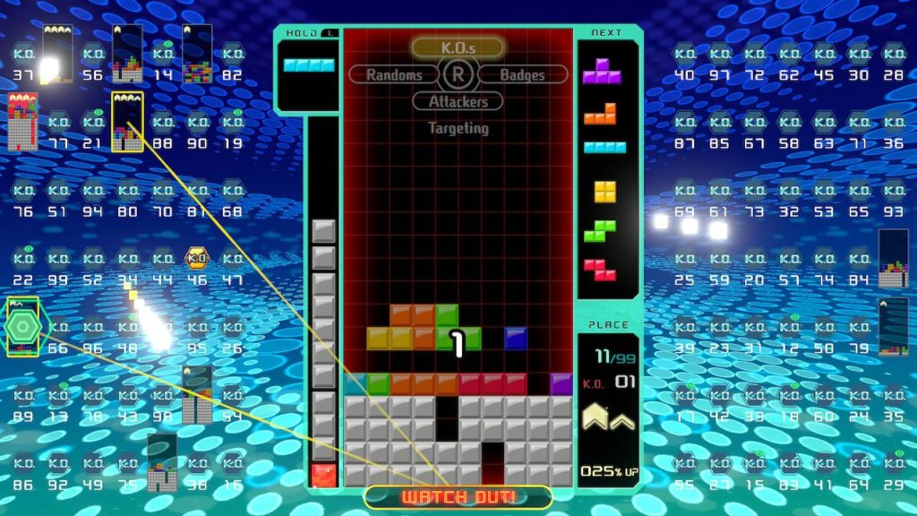 Tetris 99 with friends