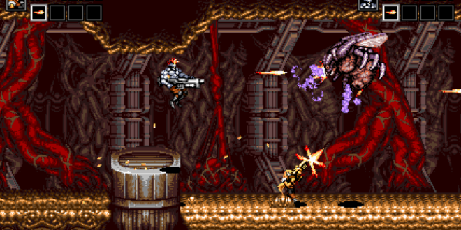 Retro shooter Blazing Chrome confirmed for Xbox One