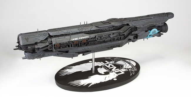 "Dark Horse unveils 18"" Replica Halo ship"