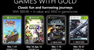 March 2019 Games with Gold