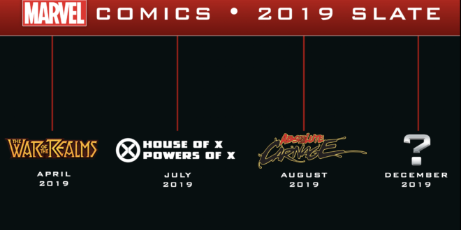 Marvel talks publishing slate for 2019, is it too much?