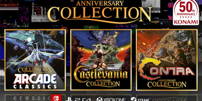 Trio of Anniversary Collections celebrate Konami's 50th
