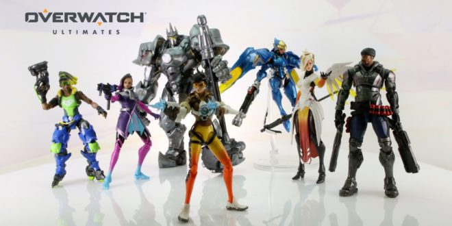Hasbro's new Overwatch figures are hitting stores now