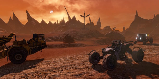 Red Faction Re-Mars-tered hitting Switch soon