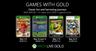 May Games with Gold 2019