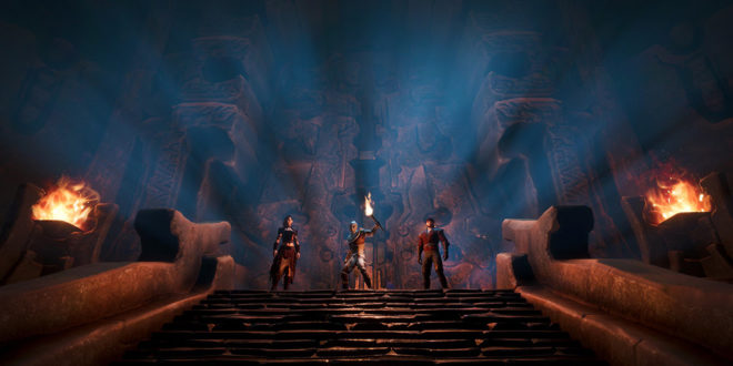 New dungeons and more added to Conan Exiles