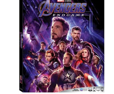 Avengers Endgame comes home next month