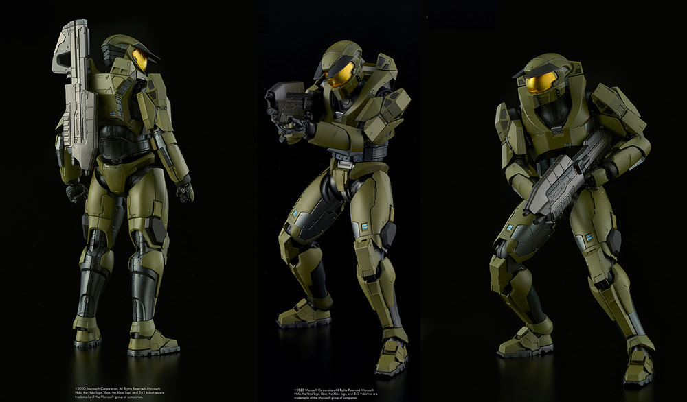 1000toys Redesigns Halo S Master Chief For New Figure Brutal Gamer