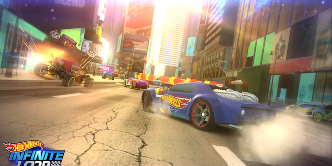 Hot Wheels enters the video game arena with new mobile title