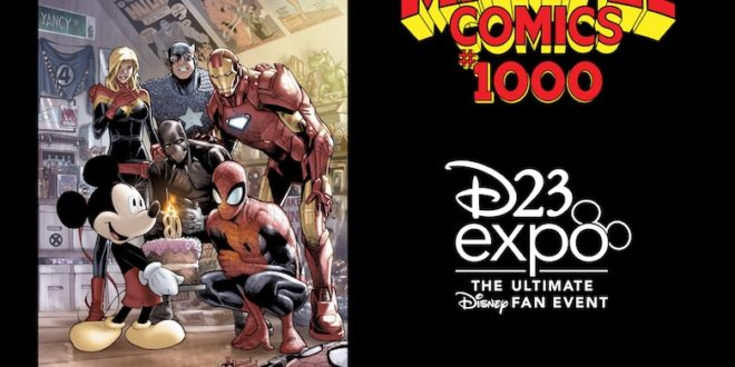 Marvel preps exclusive #1000 variant for D23