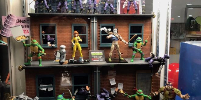 NYCC 19: NECA debuts new Turtles figures