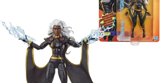 New Marvel Legends include Black Widow movie, black costume Storm