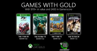 February Games with Gold 2020