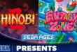 Fantasy Zone and Shinobi join Sega Ages