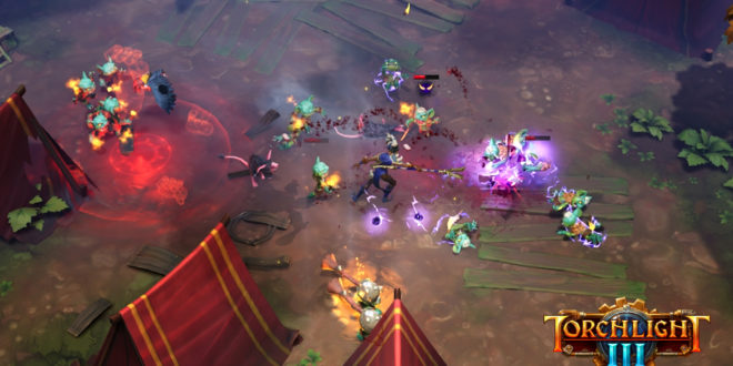 Torchlight Frontiers is becoming Torchlight III