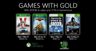 May Games with Gold 2020