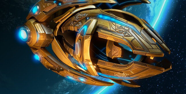 Starcraft II Protoss Carrier replica coming up from Dark Horse