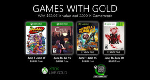 June Games with Gold 2020