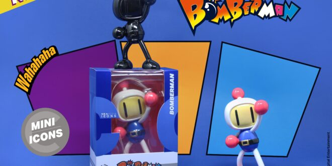Neamedia Icons set to blow up your collection with Bomberman figurines