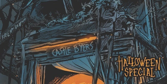 Stranger Things comic book Halloween special on the way