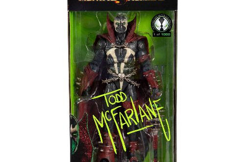 Super-limited, autographed Spawn figure coming to Walmart