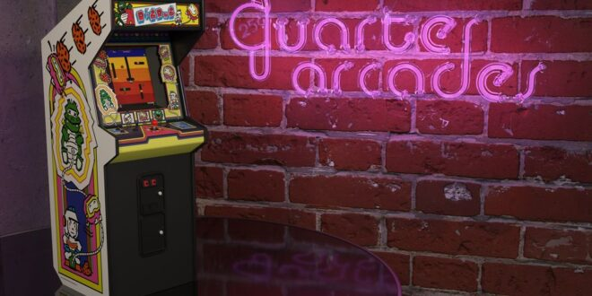 Dig Dug joins Numbskull's line of quarter-sized arcades