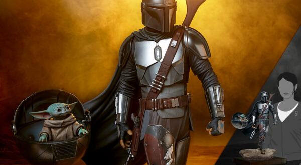 The Mandalorian Premium Format Figure announced by Sideshow