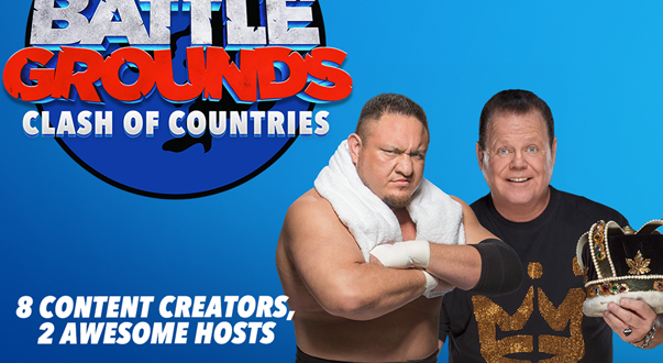 WWE 2K Battlegrounds hosts a Clash of Countries tomorrow