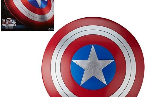 Hasbro's Captain America shield replica heading back to stores