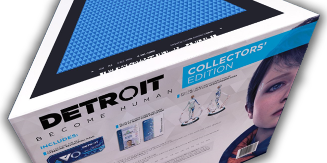 Detroit: Become Human gets PC collector's edition