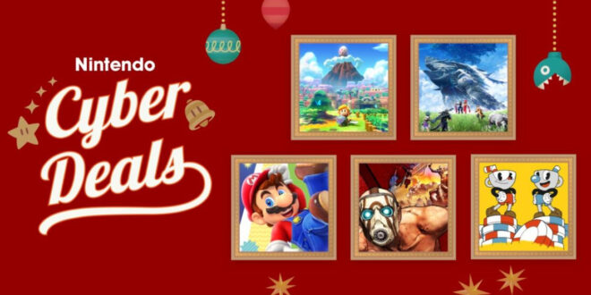 Nintendo Cyber Monday sale goes live a week early