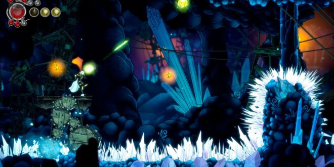Get an extended look at Metroidvania Aeterna Noctis