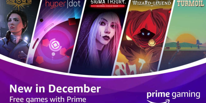 Prime Gaming heads into the holidays with freebies and more