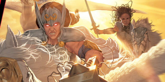 Marvel revives Asgard's Valkyries for King in Black