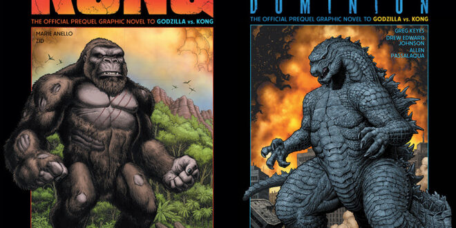 Godzilla and Kong prequel books to get Art Adams covers