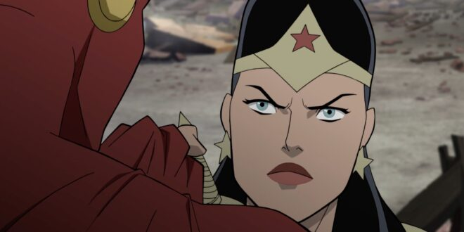 Actress Stana Katic talks about her turn as Wonder Woman in Justice Society: WWII