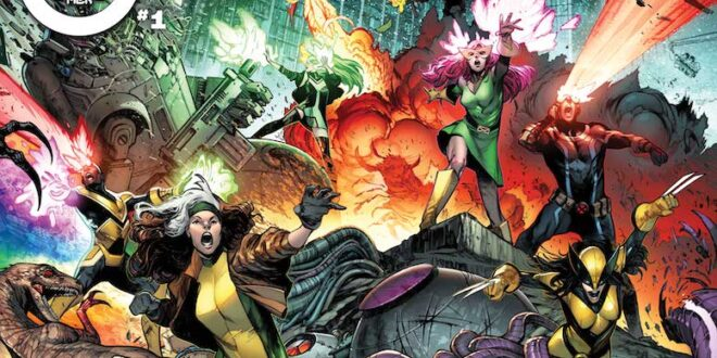 A new X-Men team debuts in July's kickoff