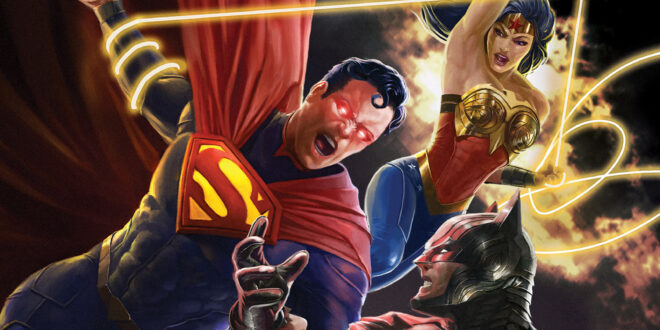 Injustice comes to Blu Ray and digital on October 19th