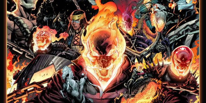 Marvel teases 50 years of Ghost Rider with new splash image