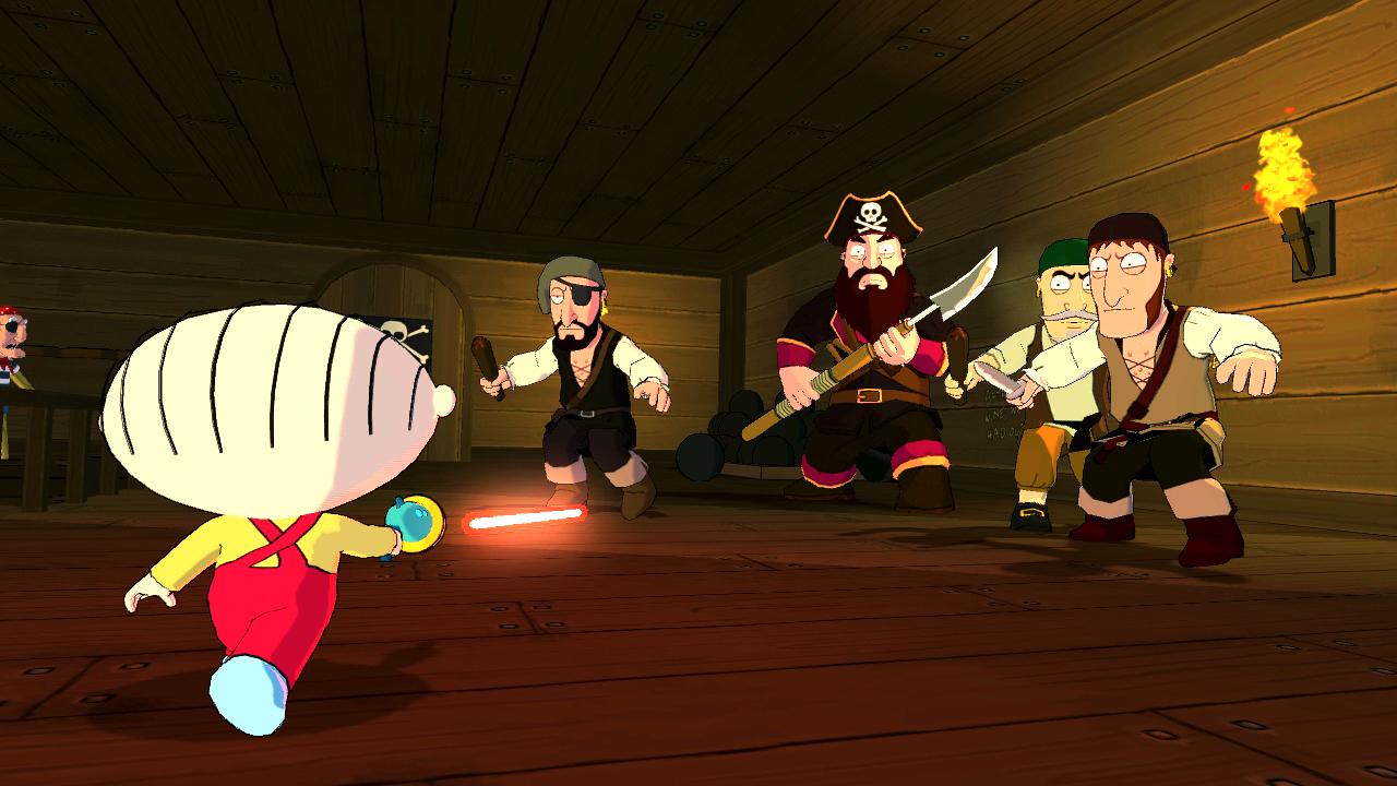 Family Guy Visits The Legend Of Long John Peter  Brutal Gamer-8553